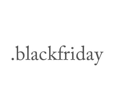 Top-Level-Domain .blackfriday