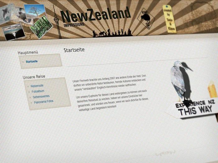 Webdesign Reisen