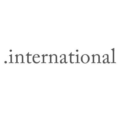 Top-Level-Domain .international