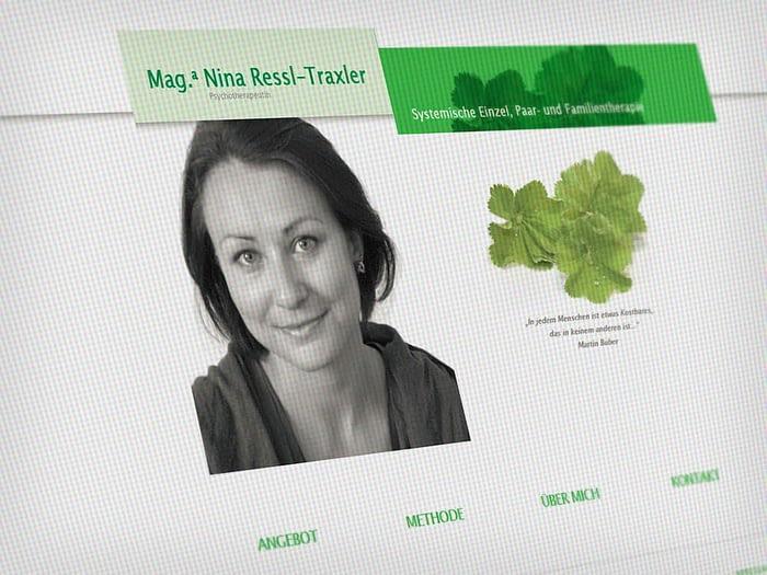 Webdesign Psychotherapeutin