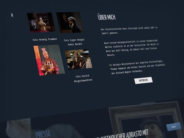 Webdesign Oper