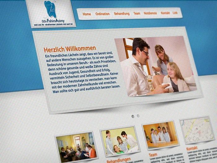 Webdesign Zahnarzt
