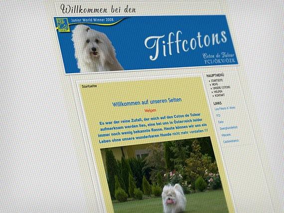 Webdesign Tiere