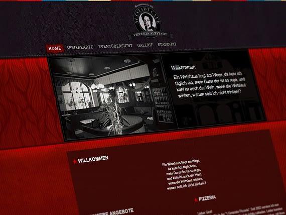 Webdesign Restaurant