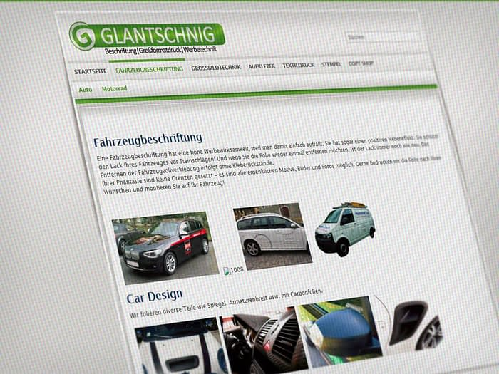 Webdesign Copyshop